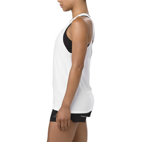 asics Loose Strappy Tank Damen brilliant white